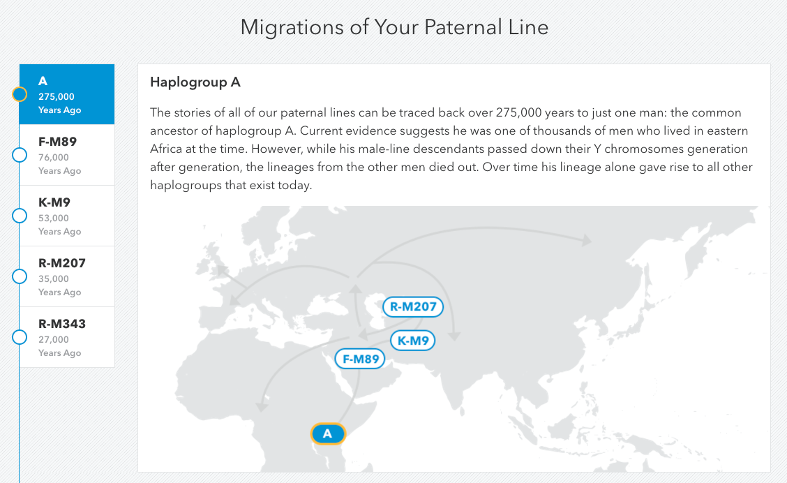 Paternal Haplogroups: Diving Deeper – 23andMe Customer Care